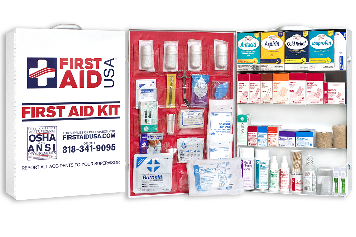First Aid Cabinets & Kits - First Aid USA